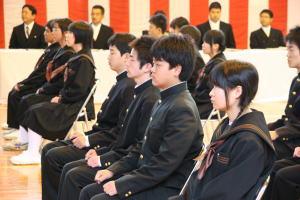 弓削高等学校入学式 - 上島町公...